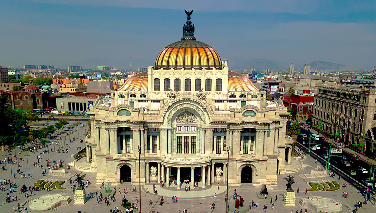 墨西哥城的景色