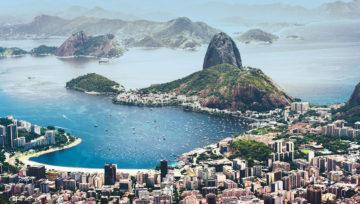 里约热内卢的全景